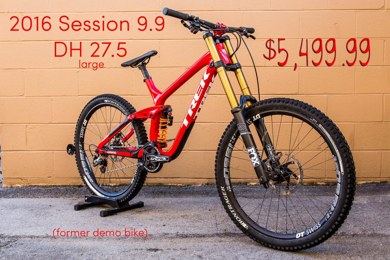 Knoxville CBC Trek Session Demo Sale Medium Large